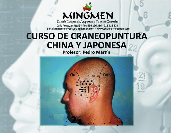Curso de Craneopuntura China y Japonesa Mingmen