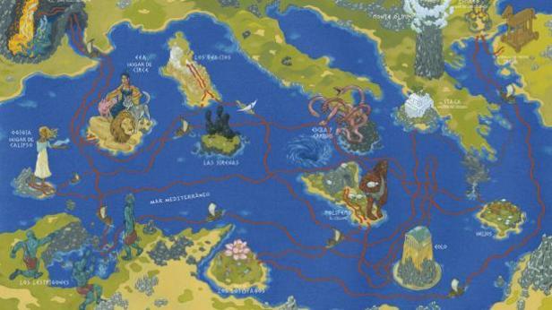 Itaca y Viaje de Ulises